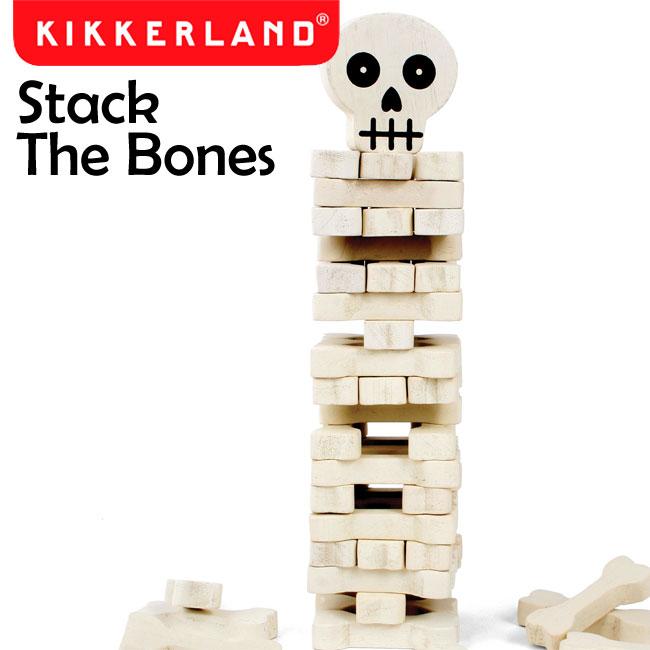 新色追加して再販 メキシカンスカルのバランスゲーム ランキング1位受賞 毎週更新 Kikkerland キッカーランド Stack The Bones スタック ザ ボーンズ 1537 ゲーム ジェンガ 積み木崩し 玩具 パーティー おもちゃ 積み木 知育玩具 あす楽対応 送料無料