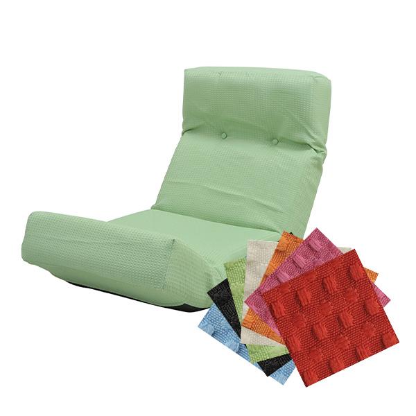 人気の撥水加工ワッフル生地♪ リクライニング 座椅子【送料無料】 ハイバック 撥水 ワッフル生地 激安 おしゃれ 一人用ソファー 安い ハイバック座椅子 おすすめ