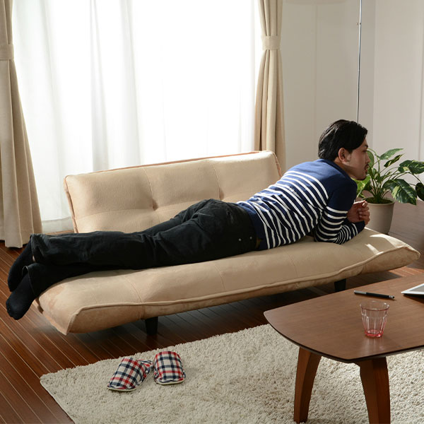 安心の日本製♪ 2人掛け カウチソファー 【送料無料】 リクライニング コンパクト 日本製 激安 小さい リクライニングソファー 小さいソファー 日本製 おしゃれ 激安 安い カウチソファー