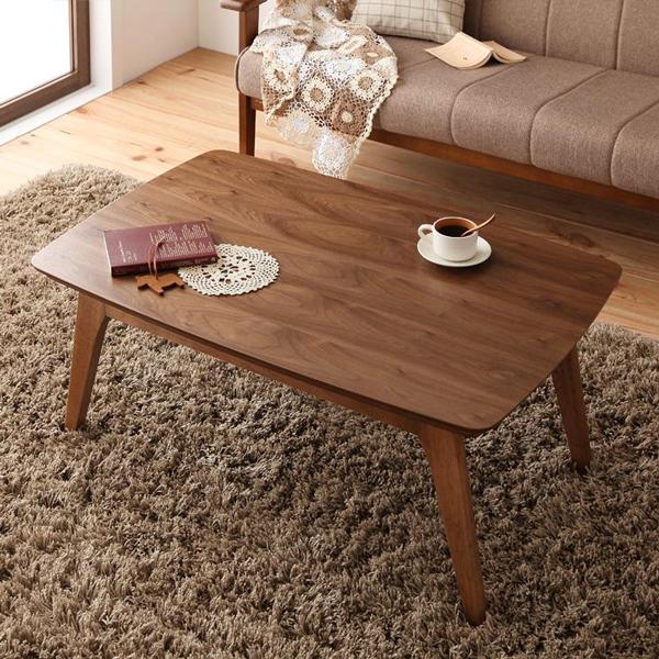 4種類の木質感から選ぶ♪ こたつ テーブル 長方形 90×60 【送料無料】 天然木 人気 ランキング 激安 コタツ 北欧 コタツ 炬燵 かわいい コタツテーブル 安い 小さいこたつ ウォールナット