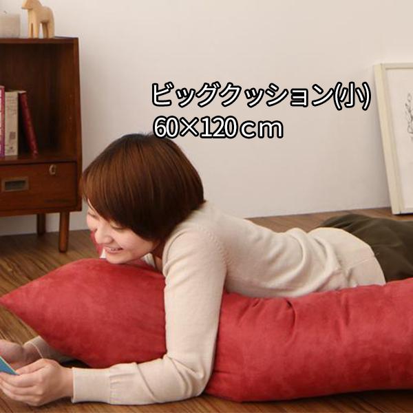 こたつのお伴に ビッグクッション 小 60×120 【送料無料】 大きい おしゃれ 長方形 かわいい 抱き枕