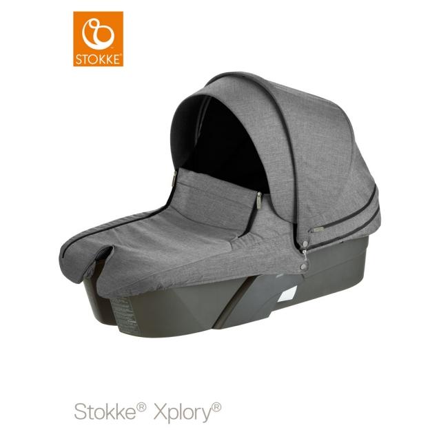 Stokke Xplory carry cot / black melange (Xploly, Stokke)