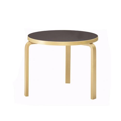 テーブル90C / ブラック (Artek / アルテック) 【送料無料】【smtb-F】