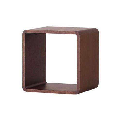 収納ボックスW350 / ウォールナット (Brick Block / ブリックブロック) 【送料無料】【smtb-F】