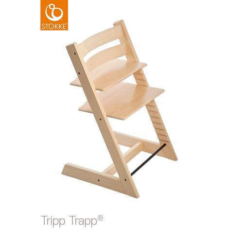 トリップ トラップ / ナチュラル 【名入れ無料】(Tripp Trapp・Stokke / ストッケ) 【送料無料】【smtb-F】