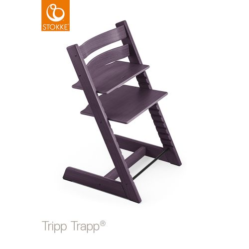 トリップ トラップ / プラムパープル【名入れ無料】 (Tripp Trapp・Stokke / ストッケ) 【送料無料】【smtb-F】