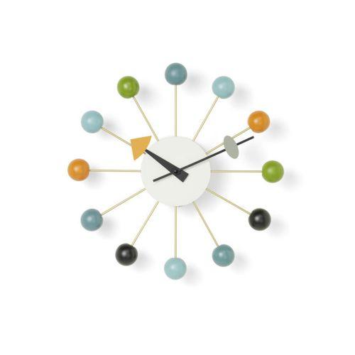 ボールクロック マルチカラー / Ball Clock (vitra ヴィトラ) 【送料無料】【smtb-F】