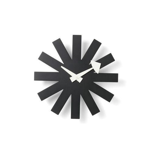 アスタリスククロック ブラック / Asterisk Clock (vitra ヴィトラ) 【送料無料】【smtb-F】