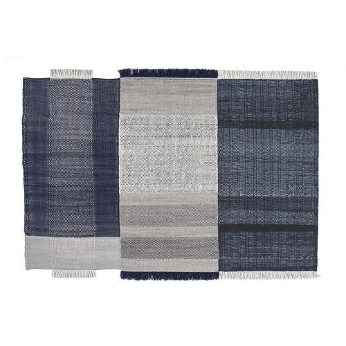 ラグマット 170×240cm (nanimarquina / Tres Blue) 【送料無料】【smtb-F】