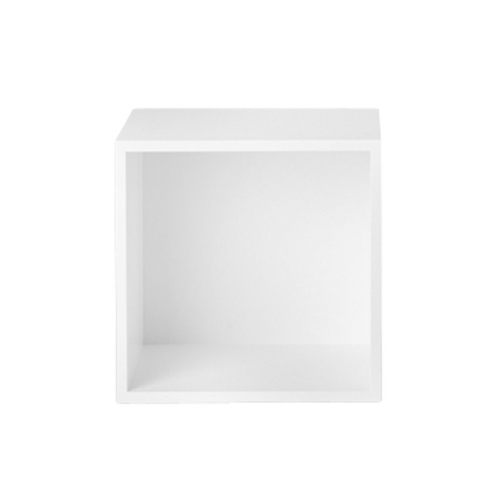 収納ボックス バックボード付き / スタックドM ホワイト (muuto / STACKED) 【送料無料】【smtb-F】