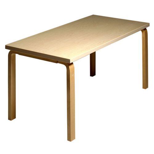テーブル81A / バーチ W150×D75cm (Artek / アルテック) 【代引不可商品】