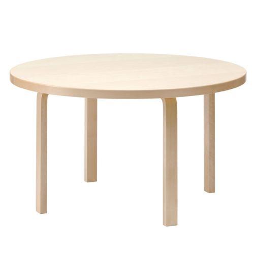 テーブル91 / バーチ φ125×72cm (Artek / アルテック) 【代引不可商品】