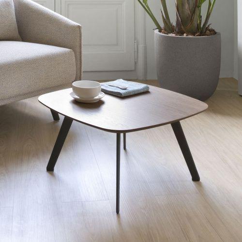 センターテーブル / ウォルナット W60×D60×H36cm (STUA / SOLAPA) 【送料無料】【smtb-F】