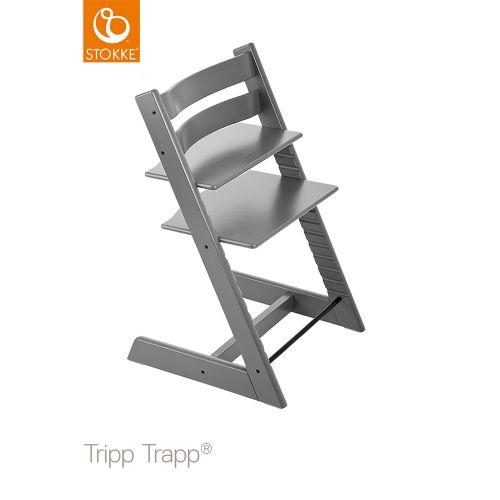 トリップ トラップ / ストームグレー【名入れ無料】 (Tripp Trapp・Stokke / ストッケ) 【送料無料】【smtb-F】