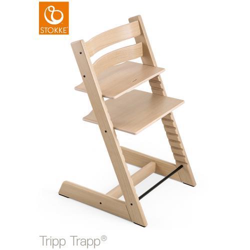 トリップ トラップ オーク / ナチュラル【名入れ無料】 (Tripp Trapp・Stokke / ストッケ) 【送料無料】【smtb-F】