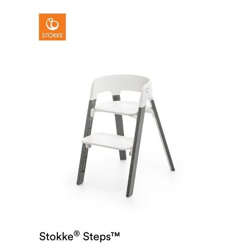 ステップス チェア ビーチ ヘイジーグレー (Steps・Stokke / ストッケ) 【送料無料】【smtb-F】