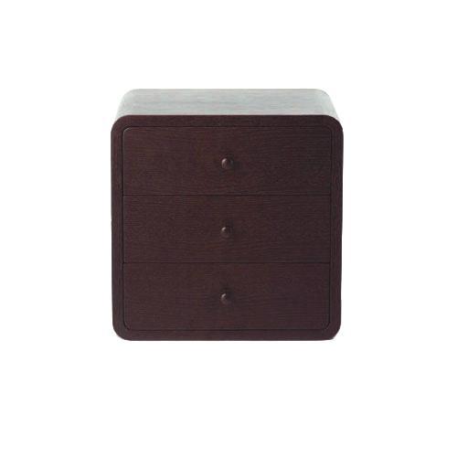 チェストW350 / ウォールナット (Brick Block / ブリックブロック) 【送料無料】【smtb-F】