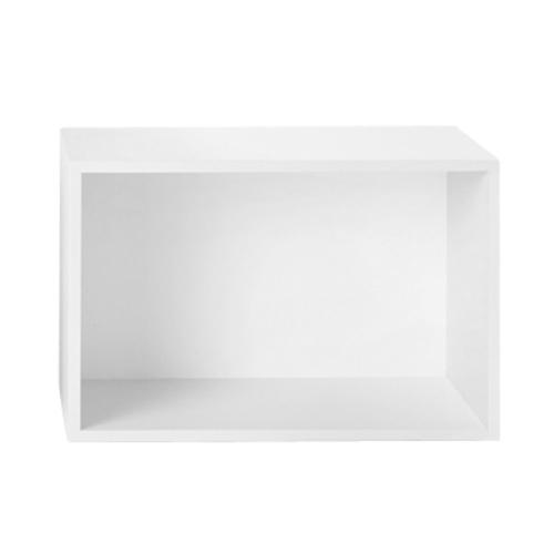 上質で快適 収納ボックス STACKED) バックボード付き/ スタックドL ホワイト/ (muuto ホワイト/ STACKED)【送料無料】【smtb-F】, たこ焼割烹たこ昌:188ed9e0 --- construart30.dominiotemporario.com