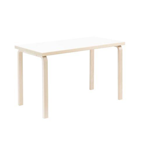 テーブル80A / ホワイト W120×D60cm (Artek / アルテック)