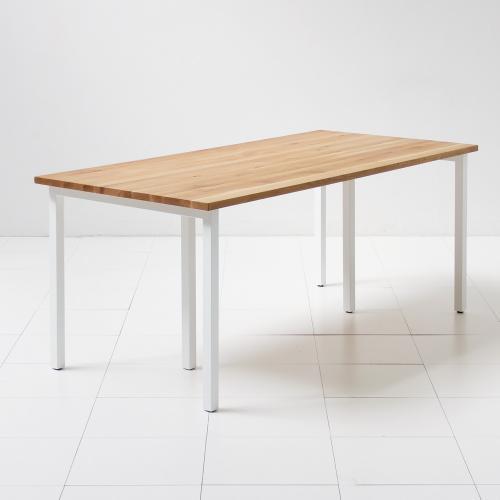 テーブル (ミズナラ180cm + TL02×2)【代引不可商品】