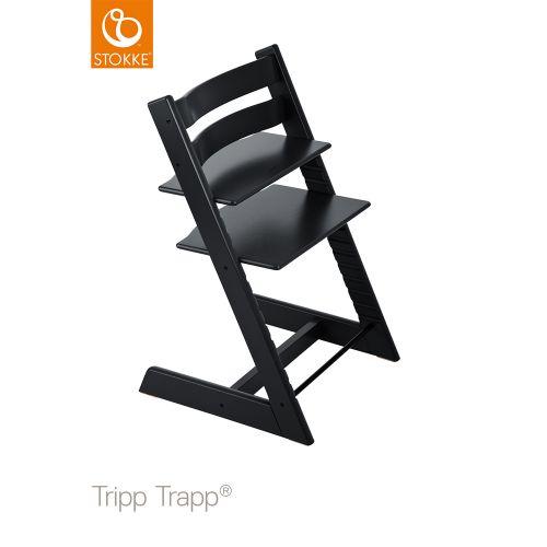 トリップ トラップ / ブラック (Tripp Trapp・Stokke / ストッケ) 【送料無料】【smtb-F】