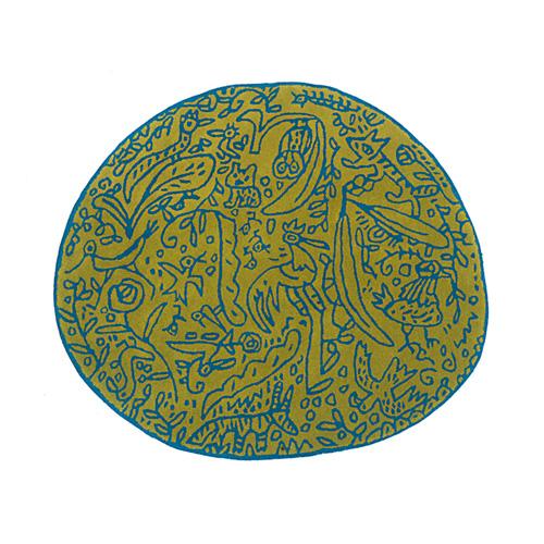 ラグマット127×140cm (nanimarquina / Bichos y flores) 【送料無料】【smtb-F】