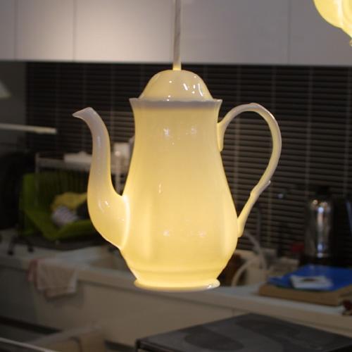 ペンダントライト LED電球 (Teapot1) 【送料無料】【smtb-F】