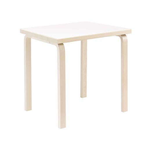 テーブル81C / ホワイト W75×D75cm (Artek / アルテック)