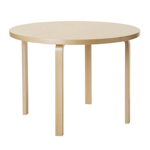 テーブル90A / バーチ (Artek / アルテック) 【送料無料】【smtb-F】