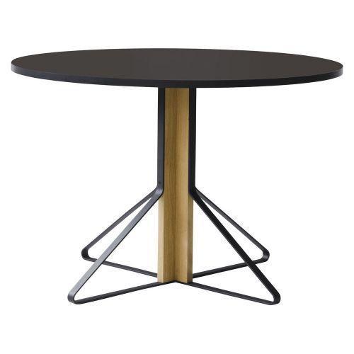 カアリテーブル REB004 / ブラック φ110×H74cm (Artek / アルテック)