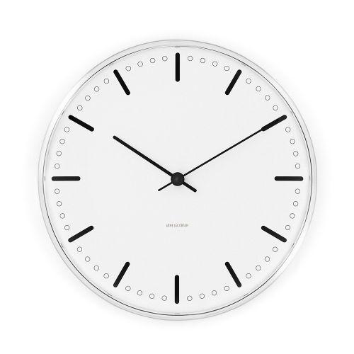 アルネ ヤコブセン ウォールクロック シティホール φ29cm / CITY HALL 【送料無料】【smtb-F】