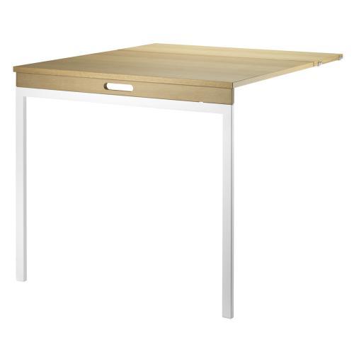 折りたたみ式テーブル / オーク×ホワイト (String System / ストリング システム)