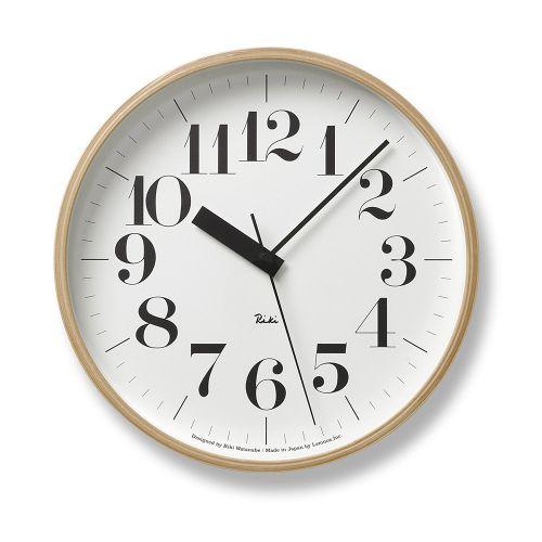 定価の67%OFF 人にも自然にも優しい 温かみのある時計 ハイクオリティ ウォールクロック 電波時計 Riki 送料無料 リキクロック clock