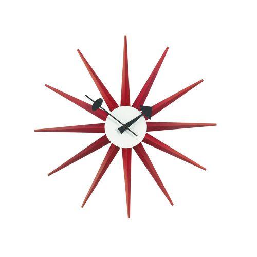 サンバーストクロック レッド / Sunburst Clock (vitra ヴィトラ) 【送料無料】【smtb-F】