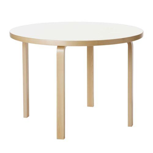 テーブル90A ホワイトラミネート