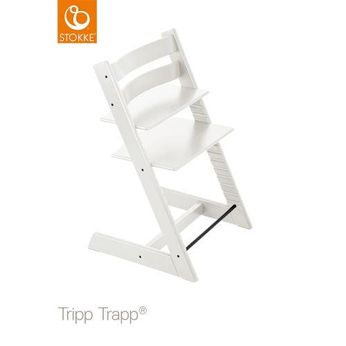 トリップ トラップ / ホワイト【名入れ無料】 (Tripp Trapp・Stokke / ストッケ) 【送料無料】【smtb-F】