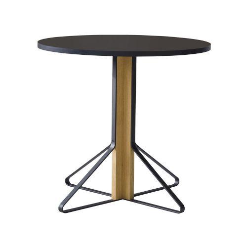 カアリテーブル REB003 / ブラック φ80×H74cm(Artek / アルテック)