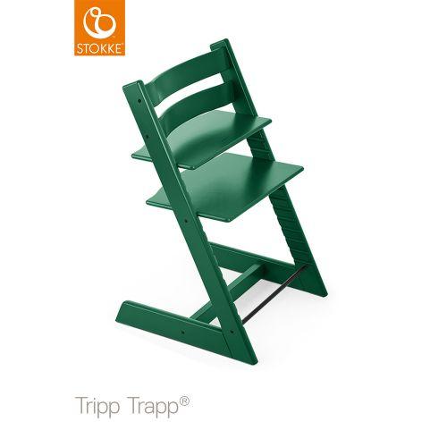 トリップ トラップ / フォレストグリーン【名入れ無料】 (Tripp Trapp・Stokke / ストッケ) 【送料無料】【smtb-F】