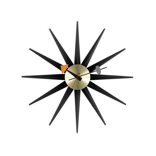 サンバーストクロック ブラック×ブラス / Sunburst Clock (vitra ヴィトラ) 【送料無料】【smtb-F】