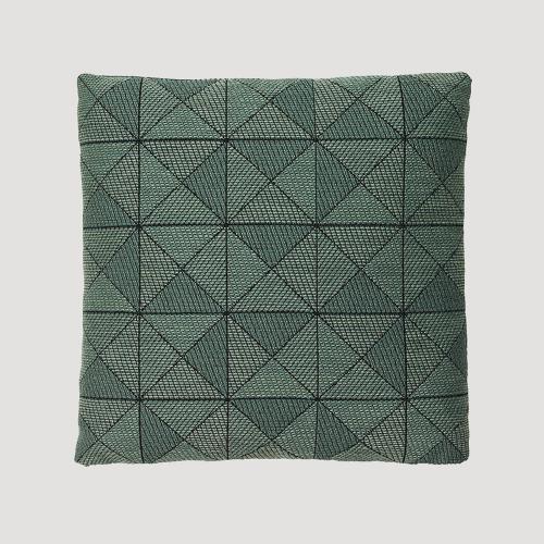 タイルクッション 50×50cm / グリーン (muuto / Tile Cushion) 【送料無料】【smtb-F】