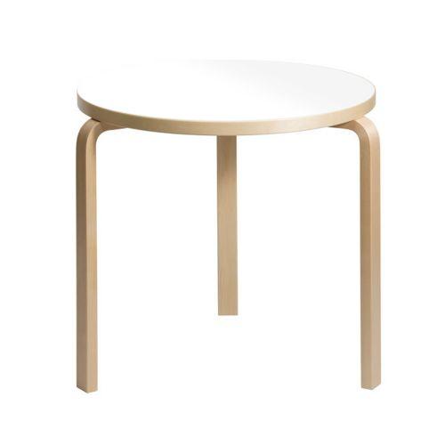 Artek Artek Table 90B White H72cm ( Alvar Aalto )