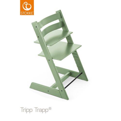 トリップ トラップ / モスグリーン【名入れ無料】 (Tripp Trapp・Stokke / ストッケ) 【送料無料】【smtb-F】