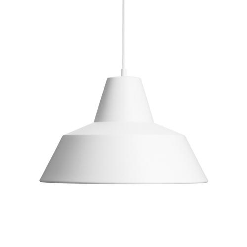 ワークショップランプM / ホワイト (The work shop lamp) 【送料無料】【smtb-F】