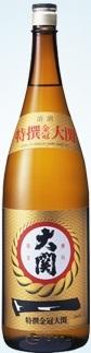 大関 特撰 金冠 本醸造1800mlx1ケース(6本)