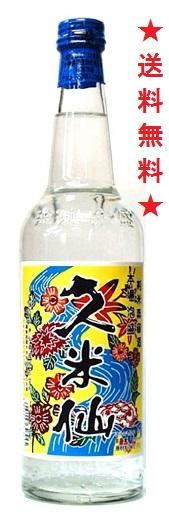 【送料無料】【久米仙酒造】久米仙 琉球泡盛 30度 600mlx12本
