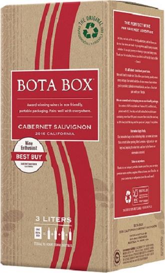 カリフォルニアワイン ボタ ボックス カベルネ・ソーヴィニヨン3000mlパックx1ケース(3本)バッグ・イン・ボックス