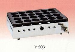 ヤマキン 家庭用ガスたこ焼器 Y-20Bセット