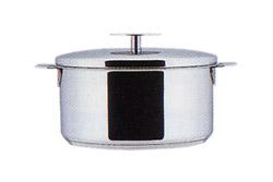 CRISTEL クリステル 両手鍋深型 18cm
