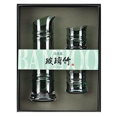 用美 ガラス酒器 玻璃竹 89258