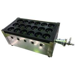 千田オリジナル ガスたこ焼き器 鉄板1丁セット